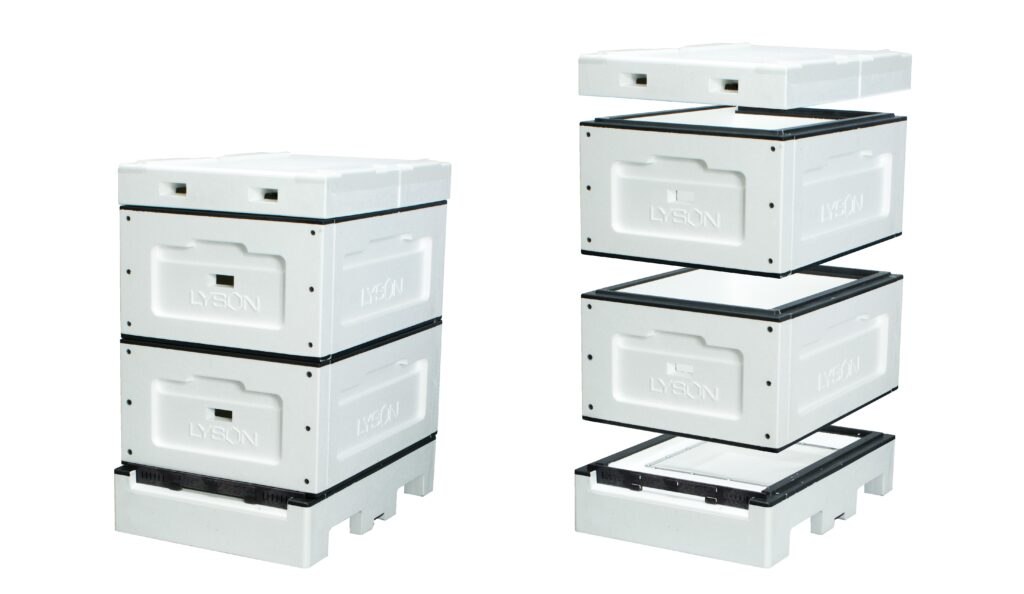Amercian Langstroth Bee hive 8 frames (roof