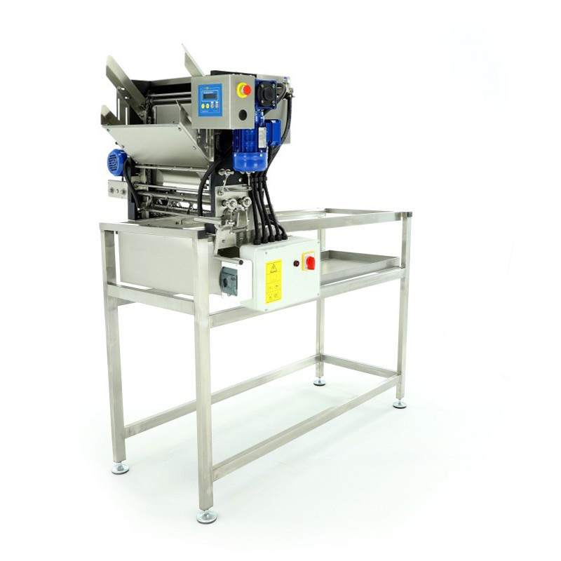Automatic feed uncapping machine