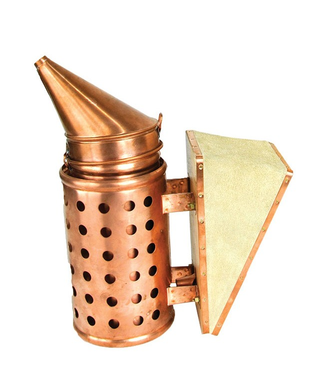 Copper smoker - BeeTools - H: 31cm