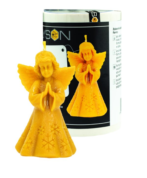 Silicone mould  - Angel with a snowflake