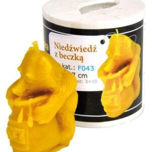 Silicon mould  – Bear with Barrel