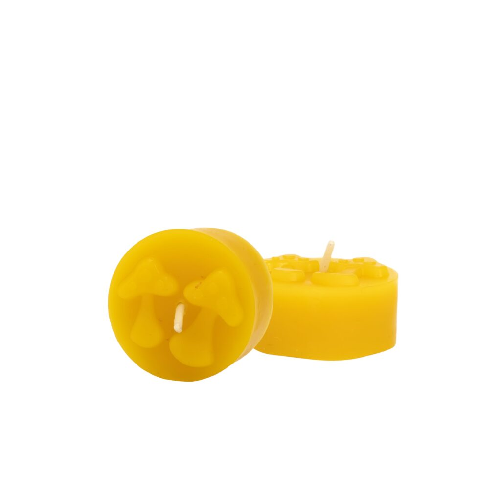 Silicone mould  - Mushrooms tealight