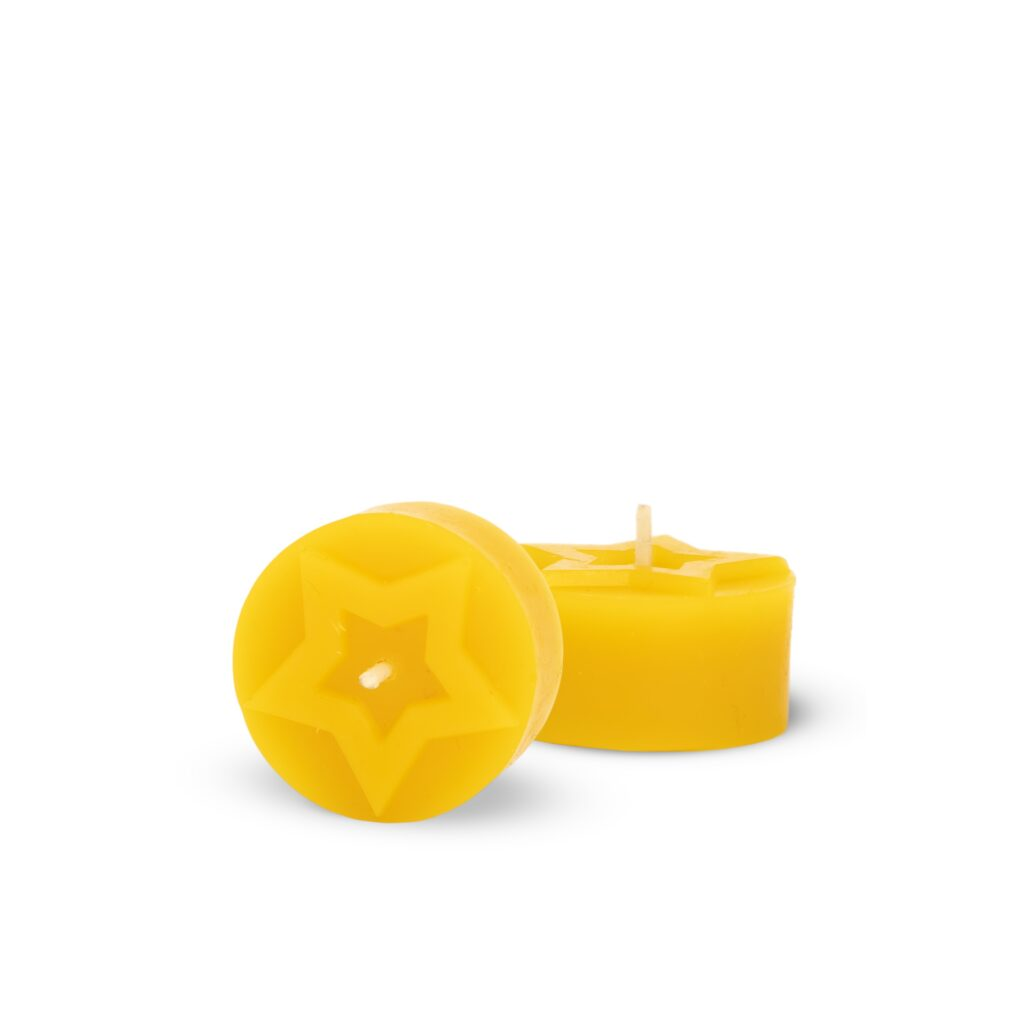 Silicone mould  - Star tealight