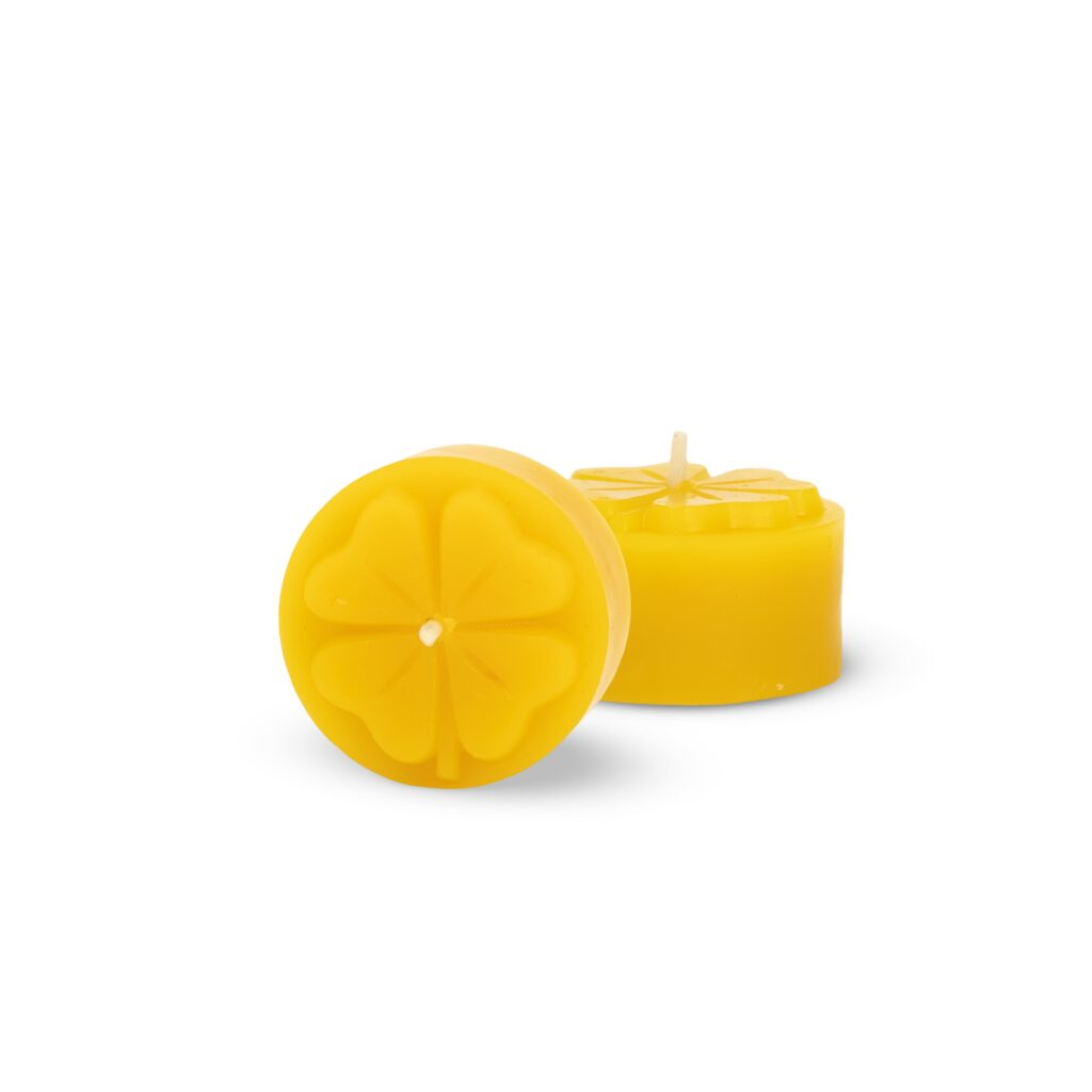 Silicone mould  - Clover tealight