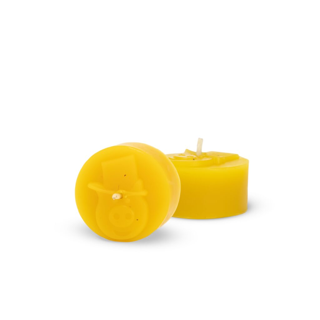 Silicone mould  - Piggy tealight