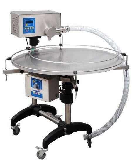 Honey bottler with automatic turntable - CLASSIC
