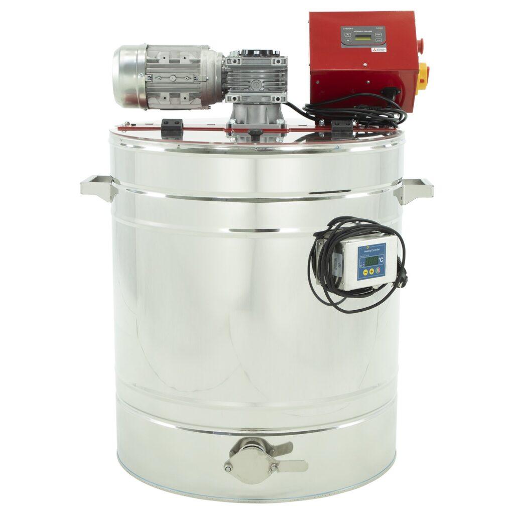 Honey creaming and decrystallization machine