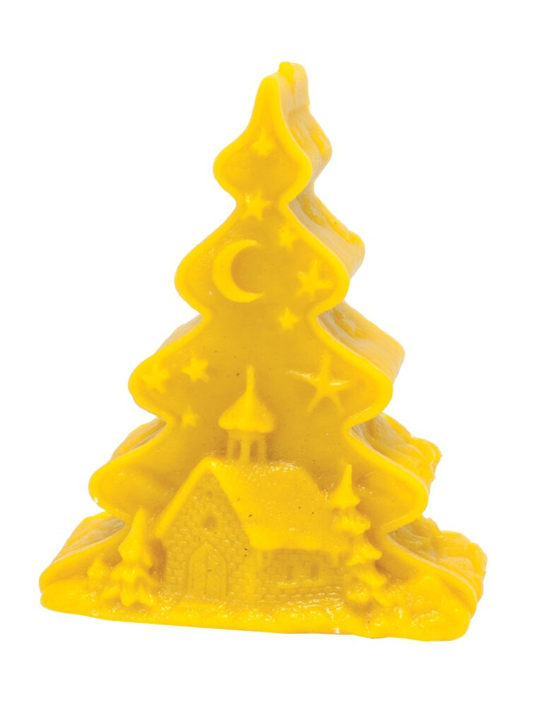 Silicon mould – Christmas tree with church