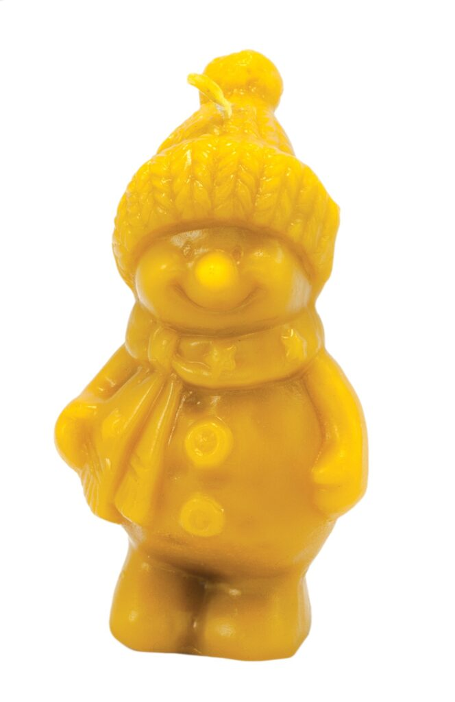 Silicon mould – Snowman with hat