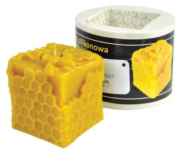 Silicone mould: Cube (H-6cm)