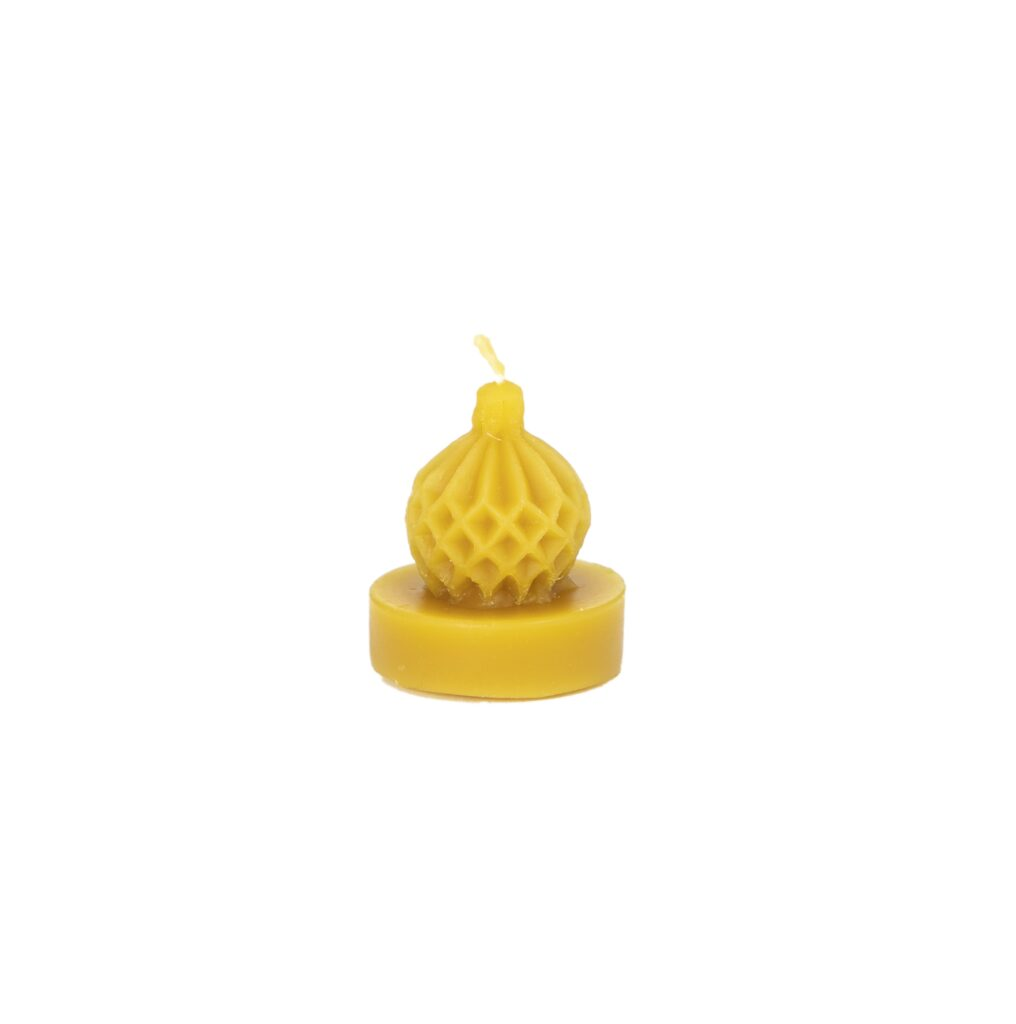 Silicone mould - Xmas bulb tealight