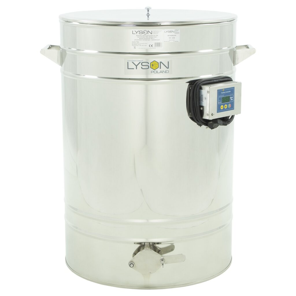 Stainless settler with heated drum 150
