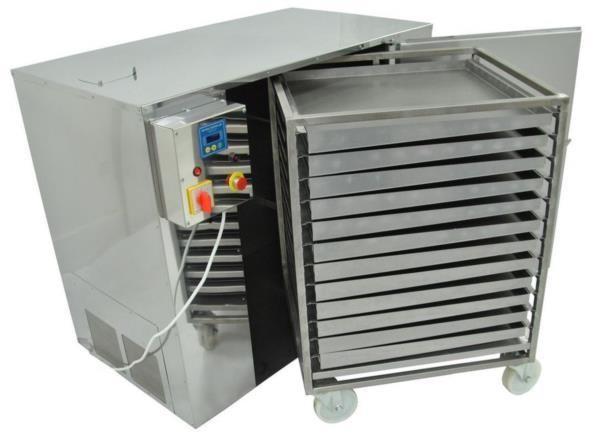 Stainless steel pollen dryer (for 60 kg of pollen)