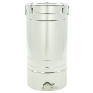 """Stainless steel settler 150 L with conical bottom  """"Premium line"""""""
