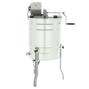 Tangential honey extractor