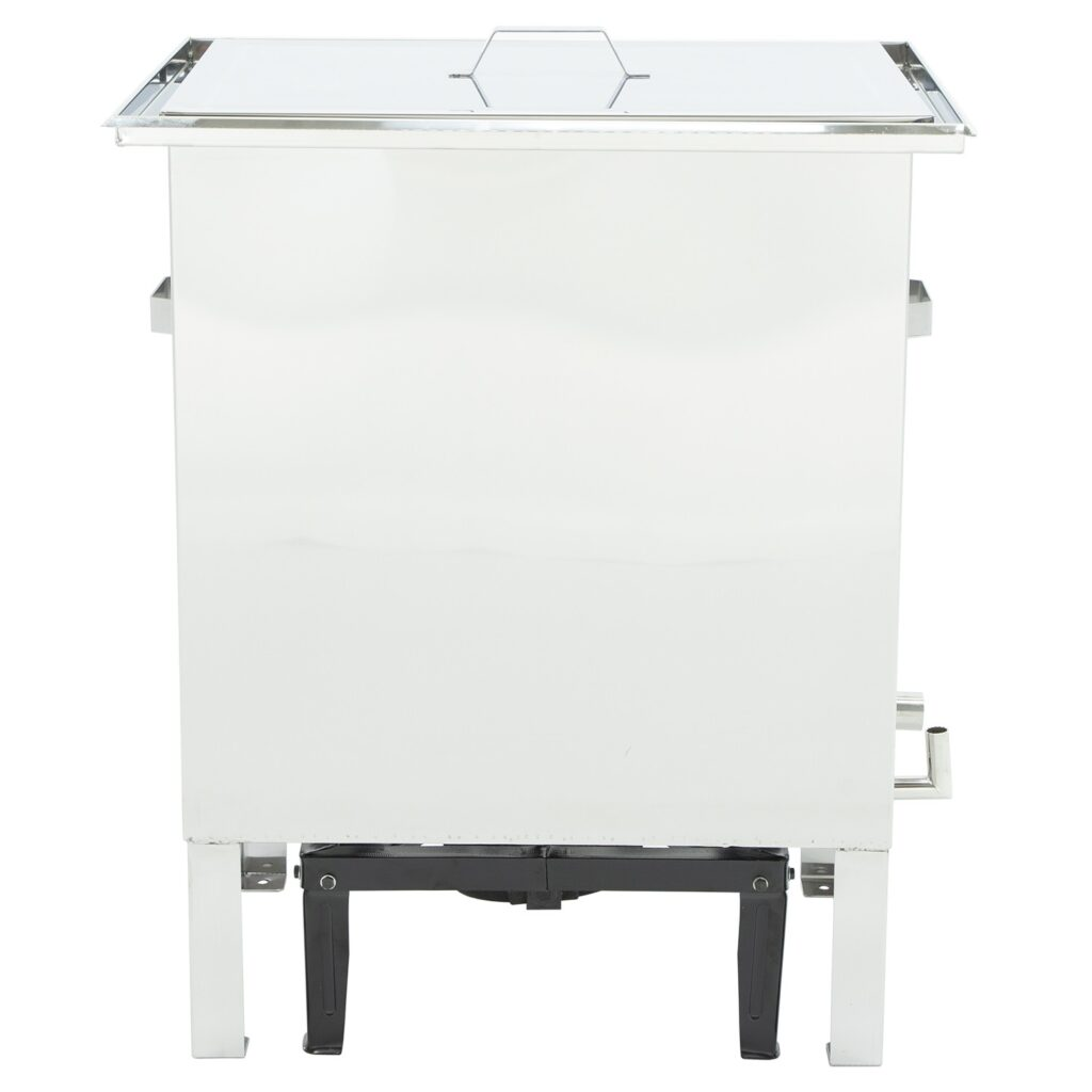 Wax melter with water seal